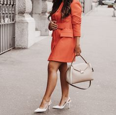 Why I decided to quit my job and move to Switzerland — Gal On Duty Orange Bag, Orange Dress, White Dress, Cost Of Living, I Decided, My Job, Hermes Kelly, Switzerland, To My Daughter