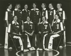 Can you find Coach Holly Warlick in this picture? UT Lady Volunteers Basketball Team (circa 1976-1985)
