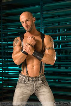 Aymeric Deville, Male Adult Star, arms made for fisting.