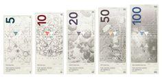 Tendances graphiques autour du billet de banque