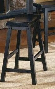 HomeHills 18 in. Stool, Set of Two in Black Sand Through Backless, Transitional Wood Black Counter Stools, Counter Height Bar Stools, Nebraska Furniture Mart, Black Sand, Foot Rest, Dining Area, Home Furniture, New Homes, Wood