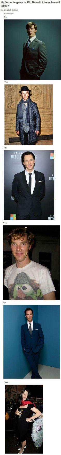 I love the Muppet Sherlock tee!! Plus I'm impressed at how well he rocks those heels!