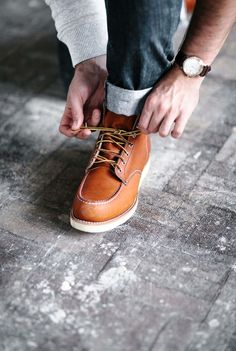 Red wings classic moc