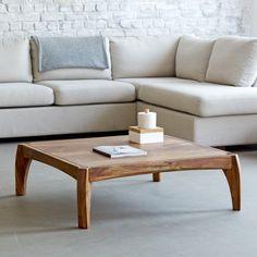 Tables salon 95x95 en palissandre – Table pour salon Luna - Tikamoon