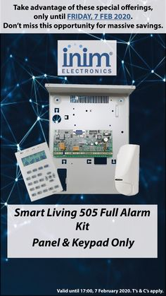 Get your Smart Living 505 Full Alarm Kit by end of Friday to take advantage of our special offering. Electronics, Friday, Kit, Home, Products, Ad Home, Homes, Haus, Consumer Electronics