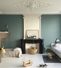 Such Great Heights x Sanne Hop Kid Spaces, Small Spaces, Cool Kids Bedrooms, Interior And Exterior, Interior Design, Latest Colour, Beautiful Space, New Room, House Rooms