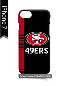 San Francisco 49ers Line 2 iPhone 7 Case Cover Wrap Around