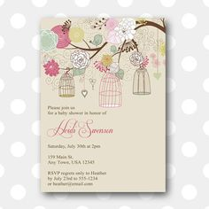 Delicate floral garden frame bridal shower invitation bridal delicate floral garden frame bridal shower invitation bridal shower pinterest shower invitations bridal showers and wedding filmwisefo Images