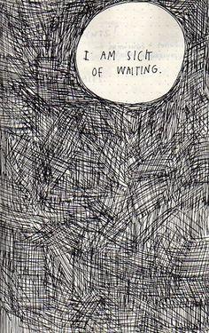 waiting.