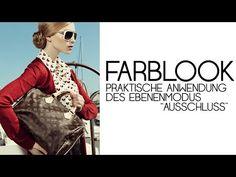 Fashion - FARBLOOK   Photoshop Tutorial ( German/Deutsch ) - YouTube