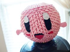 3d Origami Kirby by gracy2227 on DeviantArt