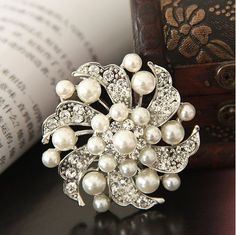 Buyinhouse New Fashion Ladies Girls Silver Plated Flashing Rhinestones Crystals Pearls Flower Petals Leaves Brooches Pin Clips All-match Clothing Accessories Suitable for Any Occasions Buyinhouse http://www.amazon.com/dp/B00JQU5FZ0/ref=cm_sw_r_pi_dp_0ZKKvb1MQ2JJV