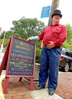 Chestertown's celebration for the War of 1812 weekend in Kent County,.