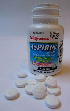 9 Usos inusuales de la Aspirina