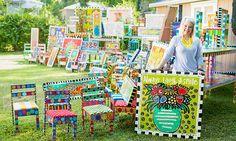 Tuscaloosa Inspirational Original Art & Painted Furniture for Sale