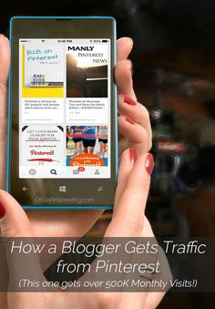 How a Blogger Gets Traffic from Pinterest Over 500K Monthly Visits | Oh So Pinteresting