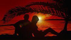 Szerelmesek, Silhouette, Pár
