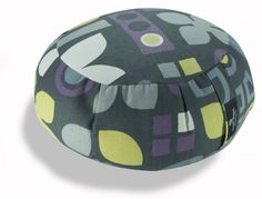 Zafu Meditation Cushion: Also doubles as a yoga bolster. Adorable print and color options from @farmupicin