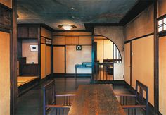 Chochikukyo (1928) , Designed by Koji FUJII / Kyoto Wooden Architecture, Japanese Architecture, Architecture Design, Antique Interior, Room Interior, Japanese Interior, Japanese House, Wabi Sabi, Interiores Design