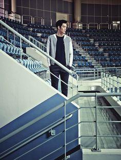 INDIVIDUO CANDY: 15 Veces Kim Woo Bin veía limpio y con clase para SIEG Revista