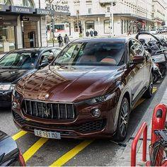 So Happy to be driving the new Maserati Levante it's a . #❤️Maserati #doitbetter @maserati