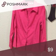 Cato pink size XL buttoned long sleeve shirt This is a pre owned, in good condition, Cato size XL pink long sleeve buttoned blouse. Fast shipping from a smoke free home. Offers and questions welcome. Thank you for looking. Cato Tops Button Down Shirts