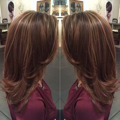 Highlights and mid length cut by Liz | Yelp