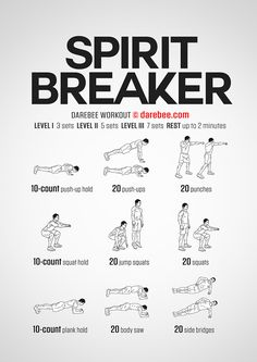 Spirit Breaker Workout