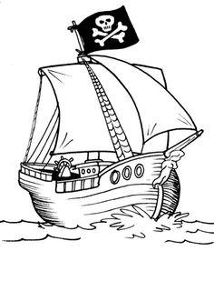 ausmalbilder piraten