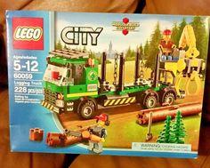 LEGO 60059 City Logging Truck Retired New Factory Sealed Box #LEGO