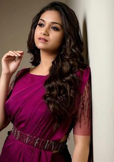 Beautiful Bollywood Actress, Most Beautiful Indian Actress, Beautiful Actresses, South Indian Actress Photo, Indian Actress Photos, Hot Actresses, Indian Actresses, Saree With Belt, Saree Belt