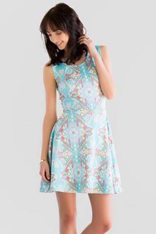 Tabitha Printed Dress