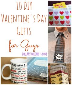 Need ideas for your husband/boyfriend for Valentines Day? Here are 10 DIY Valentine's Day gift for Guys!