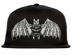 Bat Snapback Cap by SSUR