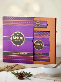J - Indian Cookbook & Seasoning Set - BHS