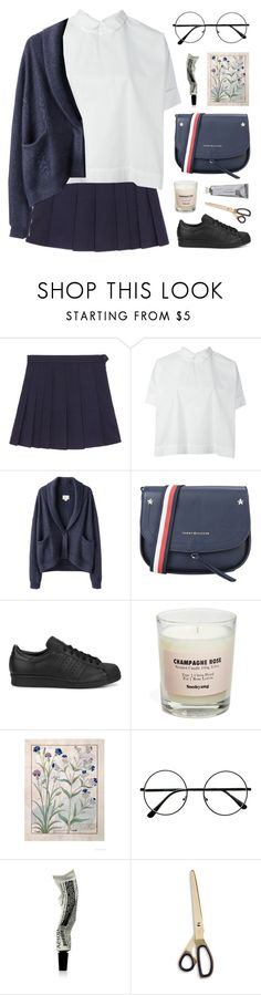 """#PolyPresents: Wish List"" by ruthaudreyk ❤ liked on Polyvore featuring Société Anonyme, Band of Outsiders, Tommy Hilfiger, adidas Originals, Soohyang, Aesop, HAY, Bloomingville, contestentry and polyPresents"