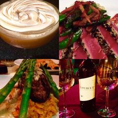 Come Wine and Dine Now starting at 4.30 pm so  Ready to Rock Our amazing Weather and $16 Bottles of Wine all night paired with 1/2 priced apps and C6 Burgers @the bar with New York New York in Dani @dphat along with Heather @heather_shhh_ Kendal Jasmine and Taylor all serving Fresh and local cuisine and 200 wines  Martinis and Cocktails all night . Going to be a fun and busy one so now @904-827-9055 or book online @http://ift.tt/1t5gy5o Chefs features are Shrimp & Datl tomato basil bisque…