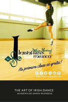 No hay pretextos, ¡Tu primera clase gratis!  ¡Bienvenidos!  #InishfreeMexico  Tania Martínez  #IrishDancer  #inishfreeTeam  #Inishfree School of #IrishDancing   #Academia de #DanzaIrlandesa  #InishfreePedregal  #InishfreeToluca ✨ #IrishDancer  #Winishfree #Danza #Dance #SoftShoes
