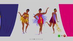 Il doodle animato di Google per il 111° compleanno di Josephine Baker - ...
