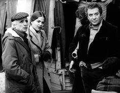 Mario Monicelli Regista con Ugo Tognazzi e Ornella Muti  Archivio Ag. Aldo Liverani Sas
