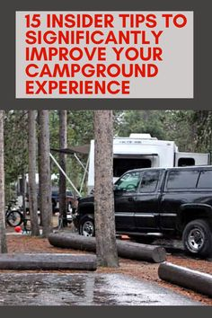 15 Insider Tips to Significantly Improve Your Campground Experience - Camping Ideas Travel Trailer Camping, Rv Camping Tips, Best Camping Gear, Rv Travel, Camping Survival, Outdoor Camping, Outdoor Travel, Camping Meals, Camping Cooking