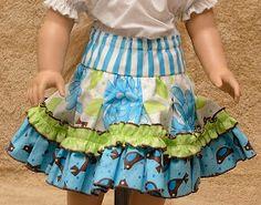 Free skirt tutorial.