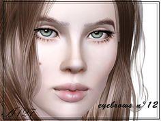 altea127 SimsVogue: Eyebrows n°12