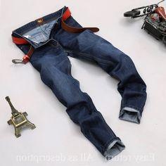 26.90$  Buy now - https://alitems.com/g/1e8d114494b01f4c715516525dc3e8/?i=5&ulp=https%3A%2F%2Fwww.aliexpress.com%2Fitem%2F2016-Winter-Autumn-Mens-Large-Plus-Trouser-High-Quality-Slim-Blue-Denim-Ripped-Jeans-for%2F32720861153.html -  2016 Winter Autumn Mens Large Plus Trouser High Quality  Slim Blue Denim Ripped Jeans for Men Big and Tall Size Pants  26.90$