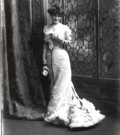 Miss Lydia West, 1900
