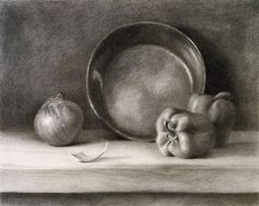 Still life drawing by Gabriel Uggla. These are the types of still ...