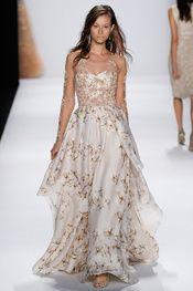 Badgley Mischka - New York Fashion Week Spring 2015