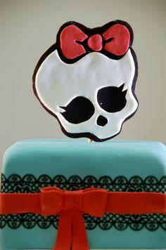 Monster high taart.