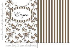 Engov Envelope marrom | Fazendo Minha Festa Casamento
