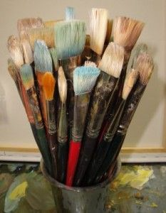 How to Choose the Right Paint Brush for the Art Technique